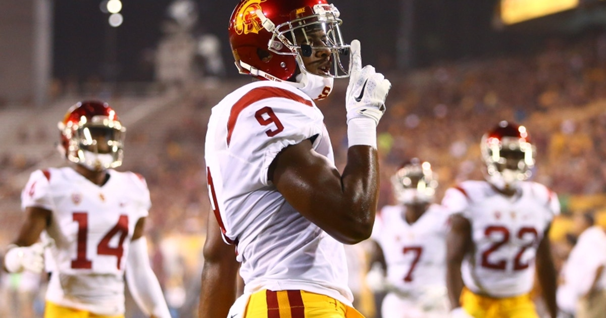afebcb0e7c1 JuJu Smith-Schuster s Nine Best Moments as a USC Receiver