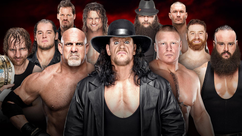 The 30-man Royal Rumble