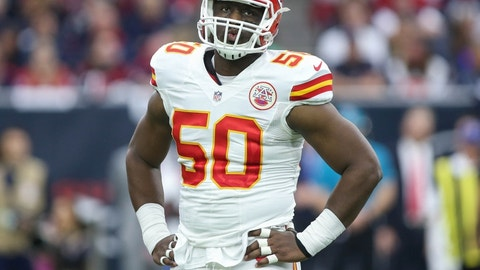 Justin Houston, OLB, Chiefs
