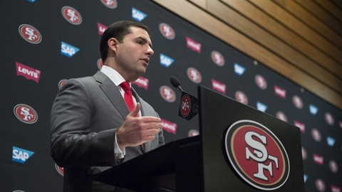 San Francisco 49ers -- Jed York, owner