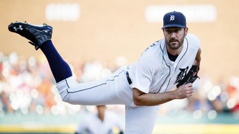 Justin Verlander -- Detroit Tigers