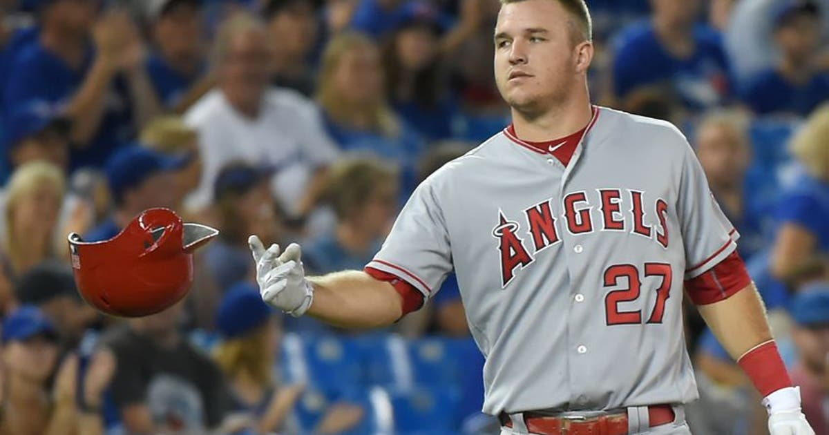 2017 Mlb All Star Game Angels Of Mike Trout Named