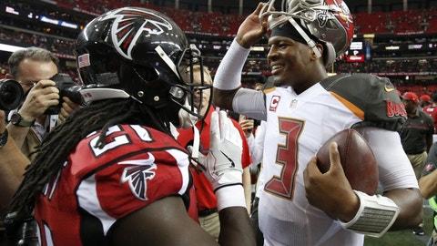 November 26: Tampa Bay Buccaneers at Atlanta Falcons, 1 p.m. ET