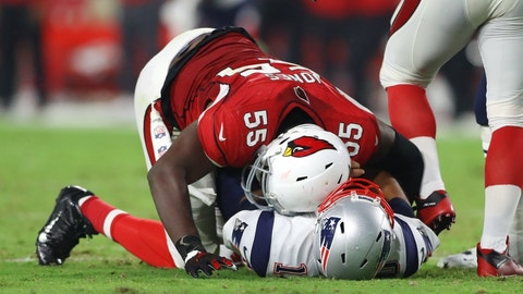 Outside linebacker: Chandler Jones, Cardinals