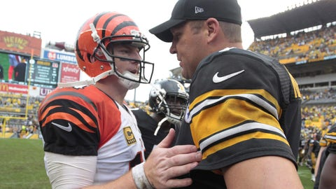 October 22: Cincinnati Bengals at Pittsburgh Steelers, 1 p.m. ET