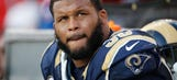 Rams head coach McVay on Aaron Donald's absence at OTAs: 'We expected him not to be here today'
