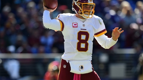 Kirk Cousins: Washington Redskins