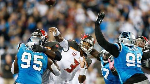 December 24: Tampa Bay Buccaneers at Carolina Panthers, 1 p.m. ET
