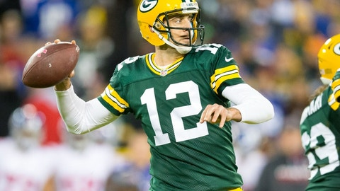 Aaron Rodgers -- Green Bay Packers -- Super Bowl XLV