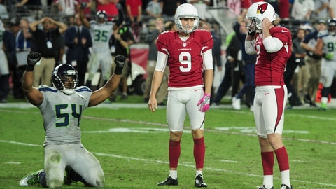 Arizona Cardinals -- Chandler Catanzaro, K