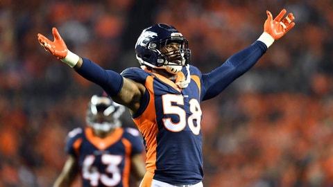 October 15: New York Giants at Denver Broncos, 8:30 p.m. ET