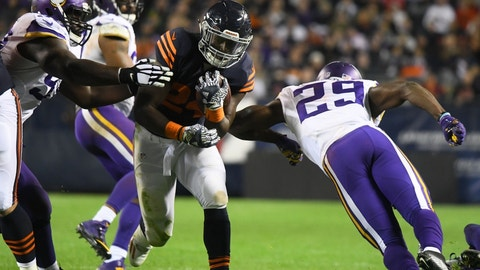 October 9: Minnesota Vikings at Chicago Bears, 8:30 p.m. ET
