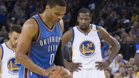 Russell Westbrook is still averaging a triple-double