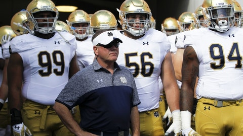 Notre Dame will be better next season – how much better remains to be seen