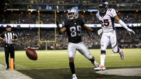 November 26: Denver Broncos at Oakland Raiders, 4:25 p.m. ET