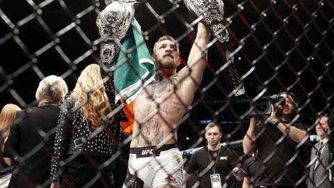 Conor McGregor hadn't won his second title … his second Cage Warriors title, that is