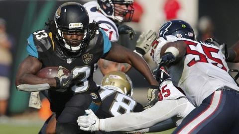 December 17: Houston Texans at Jacksonville Jaguars, 1 p.m. ET