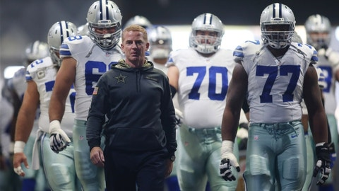 Coach of the Year: 1. Jason Garrett, Cowboys