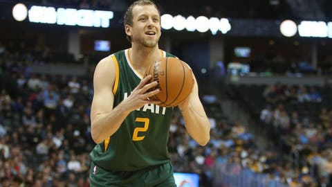 Joe Ingles, SF, Utah Jazz -- 233