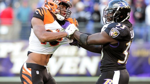December 31: Cincinnati Bengals at Baltimore Ravens, 1 p.m. ET