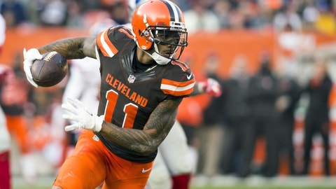 Wide receiver: Terrelle Pryor, Browns