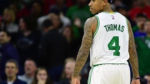 EAST -- Backcourt: Isaiah Thomas, Boston Celtics