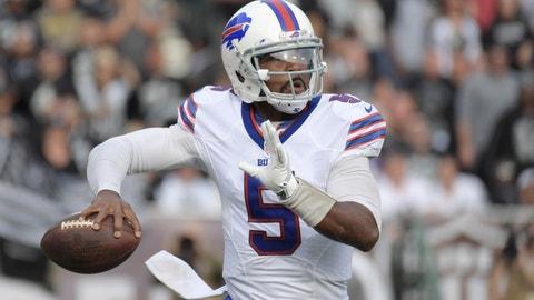 QB Tyrod Taylor to the Bills: B+
