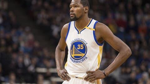 WEST -- Frontcourt: Kevin Durant, Golden State Warriors