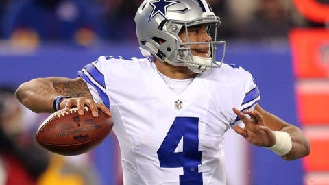 Offensive Rookie of the Year: Dak Prescott, Cowboys