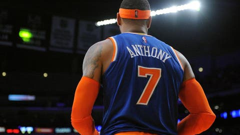 Carmelo Anthony is having his worst offensive season ever in New York