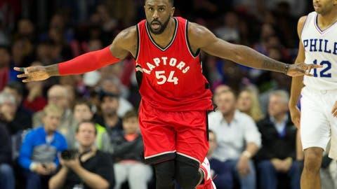 Patrick Patterson, Toronto Raptors (seventh season)