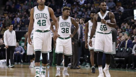 Boston doesn't have a scorer to settle them down -- or get a bucket in the clutch