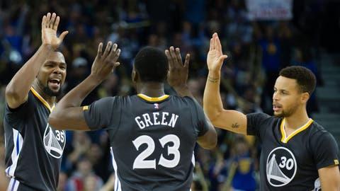 Golden State Warriors (67-15)