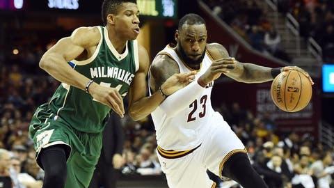 Milwaukee Bucks vs. Cleveland Cavaliers