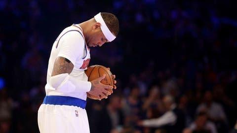 Carmelo Anthony (9 appearances, 8 starts)