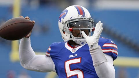 Bills restructuring Tyrod Taylor's contract