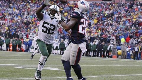 9 touchdown receptions (1 player)