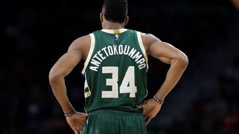 Frontcourt: Giannis Antetokounmpo, Milwaukee Bucks