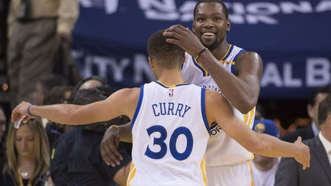 Frontcourt — Kevin Durant, Golden State Warriors