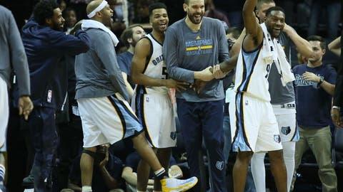 Memphis Grizzlies: Marc Gasol, Mike Conley, Vince Carter
