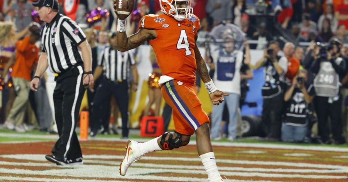 2017 NFL Mock Draft  First-round projections after CFP Semifinals ... 8872270f2