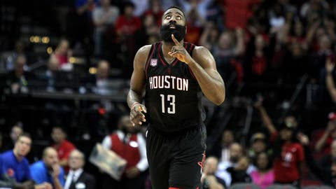 James Harden: 53 vs. Knicks (12/31/16)