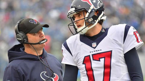 Texans (-16) over PATRIOTS (Over/under: 44.5)