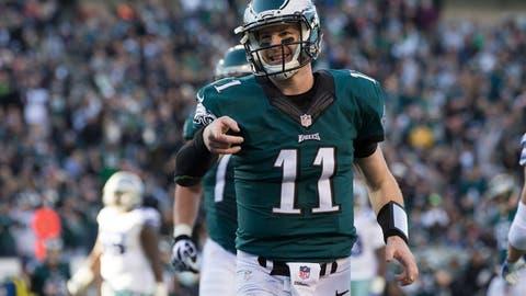 Carson Wentz, QB, Eagles (7th last week)