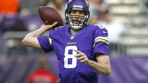 Vikings activate Bradford, Bridgewater will reportedly be No. 2