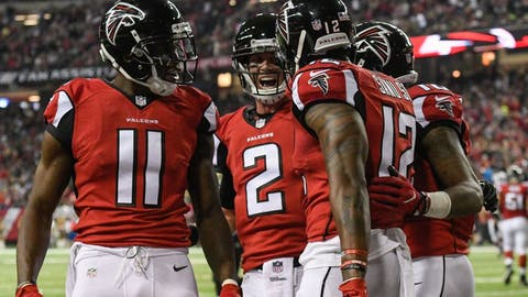 Atlanta Falcons: +1125 (45/4)