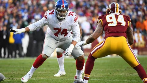 New York Giants: Left tackle