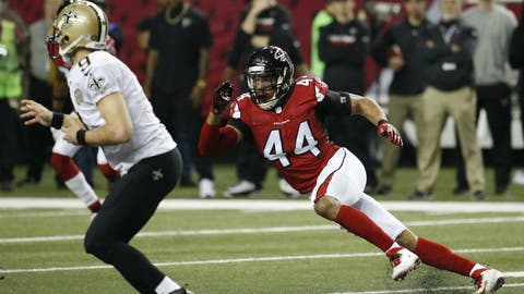 Vic Beasley has become a monster