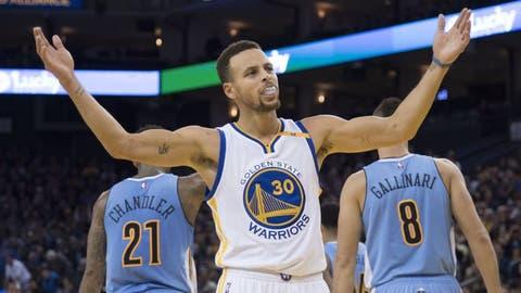 Guard: Stephen Curry, Golden State Warriors