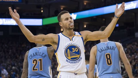 Guard: Stephen Curry, Golden State Warriors